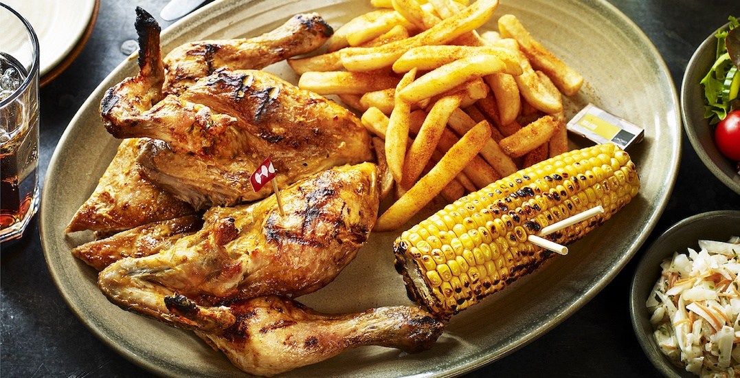 Celebrate Nando's Surrey re-opening with a FREE meal for 8 people