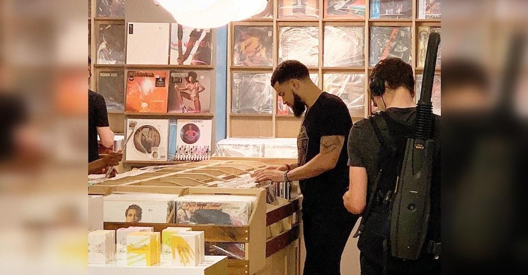 Raptors Fred VanVleet spotted at Toronto record store