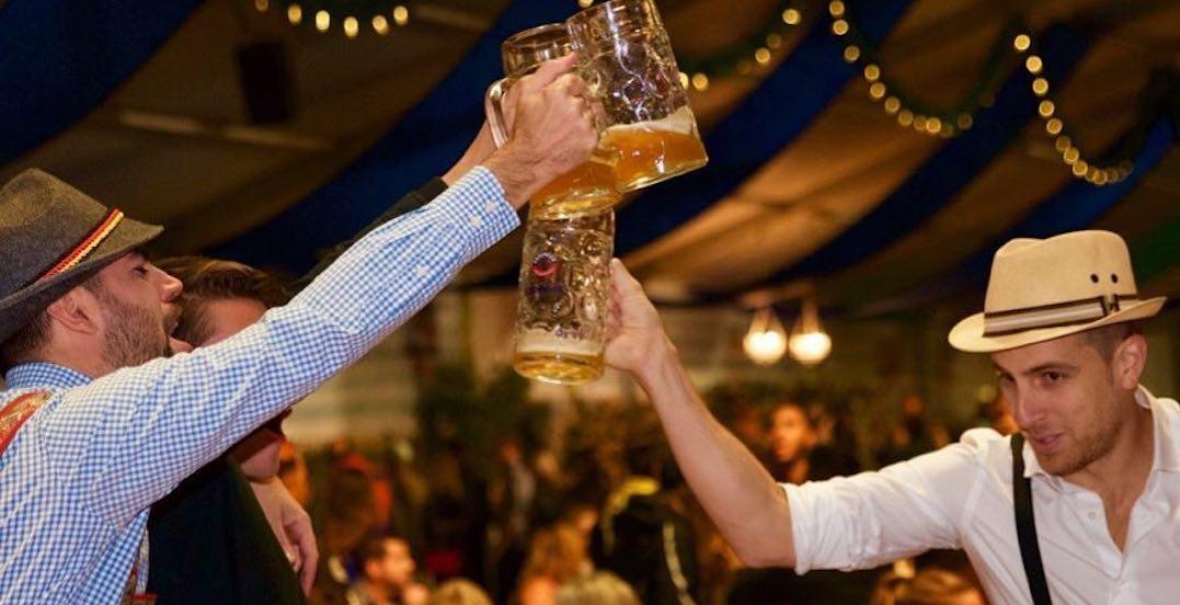 A massive Oktoberfest celebration is coming to Toronto next month