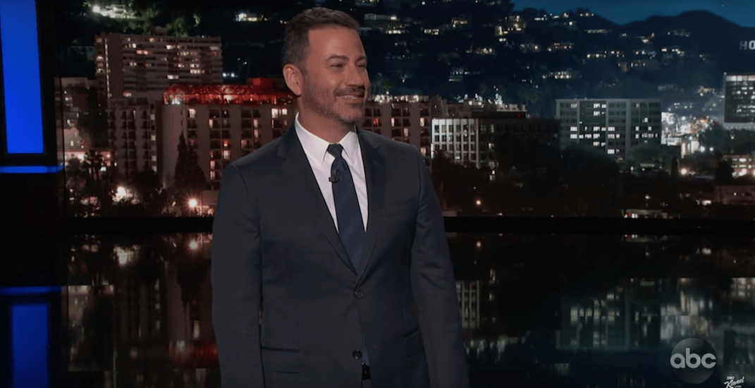 Jimmy Kimmel says he's running for mayor of Dildo, Newfoundland (VIDEOS)