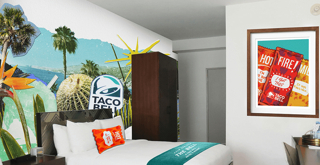 Inside the Bell: Tour Taco Bell's taco-themed pop-up hotel (PHOTOS)