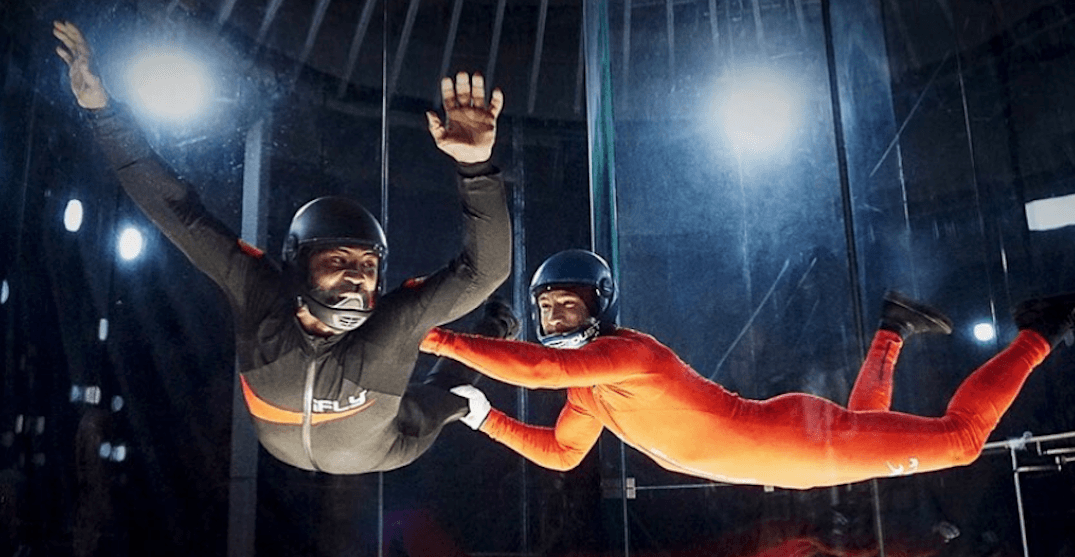 iFLY Indoor Skydiving centre is finally open in Calgary