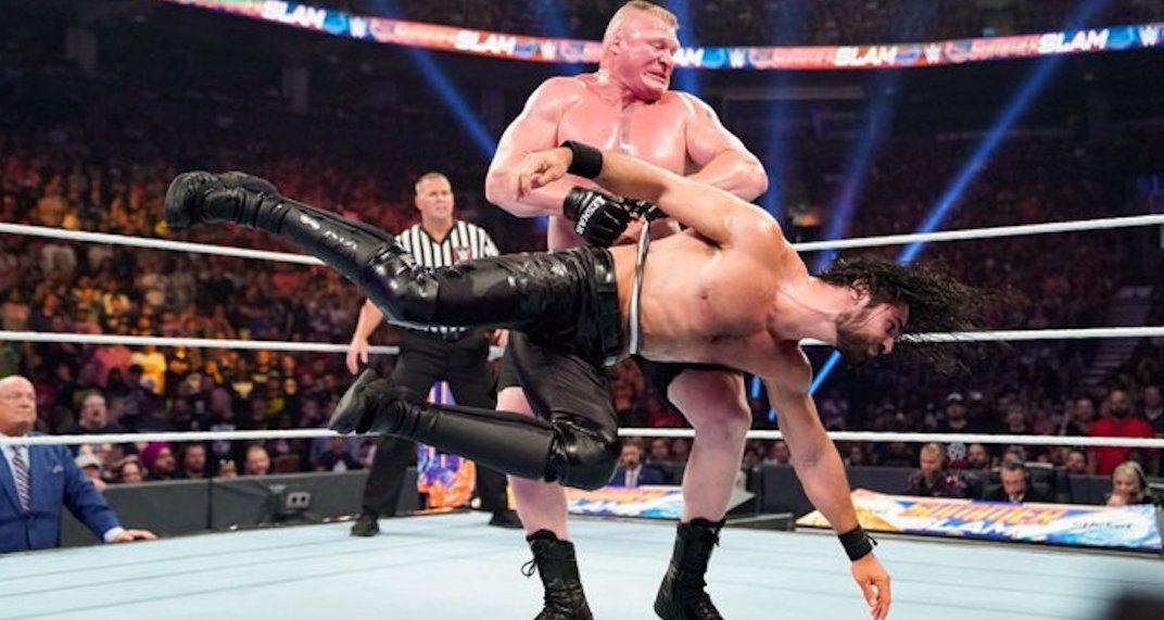 This is what went down at WWE's SummerSlam in Toronto (PHOTOS)