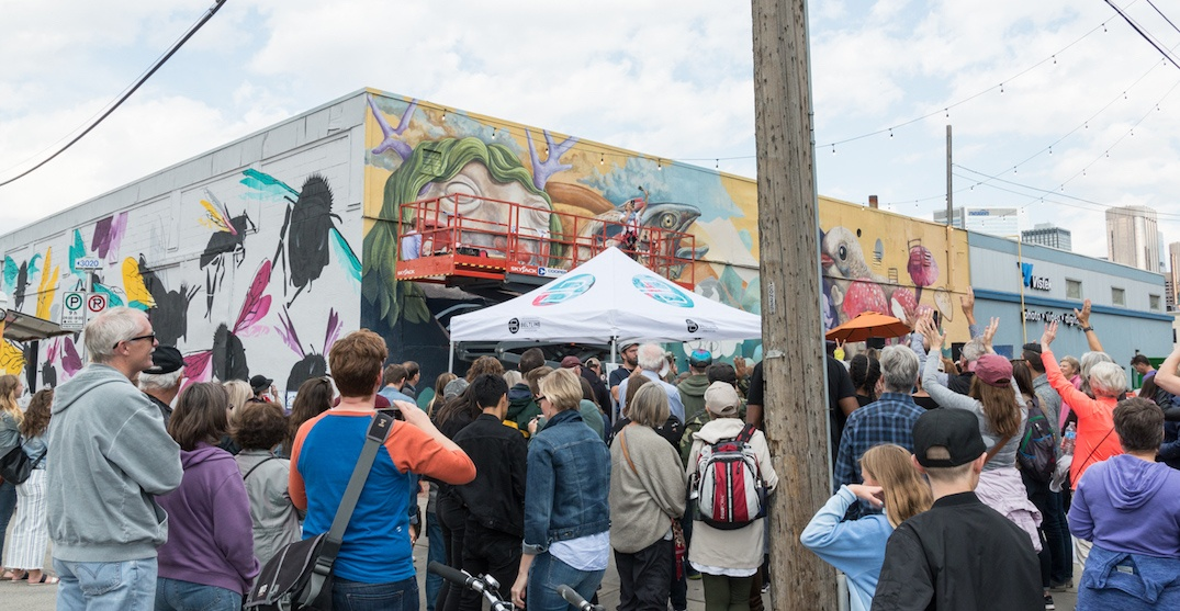 The Beltline Urban Mural Festival is coming back to Calgary this month