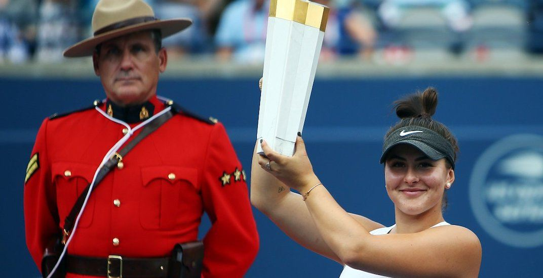Bianca Andreescu vaults up world tennis rankings after Rogers Cup win