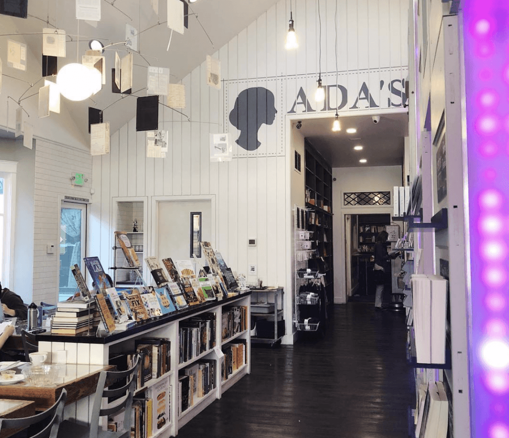 Ada's Technical Books & Cafe bookstores