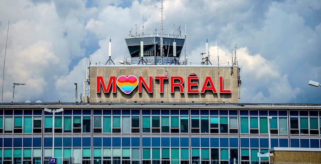 Trudeau airport shows off its colours for Montreal Pride Week