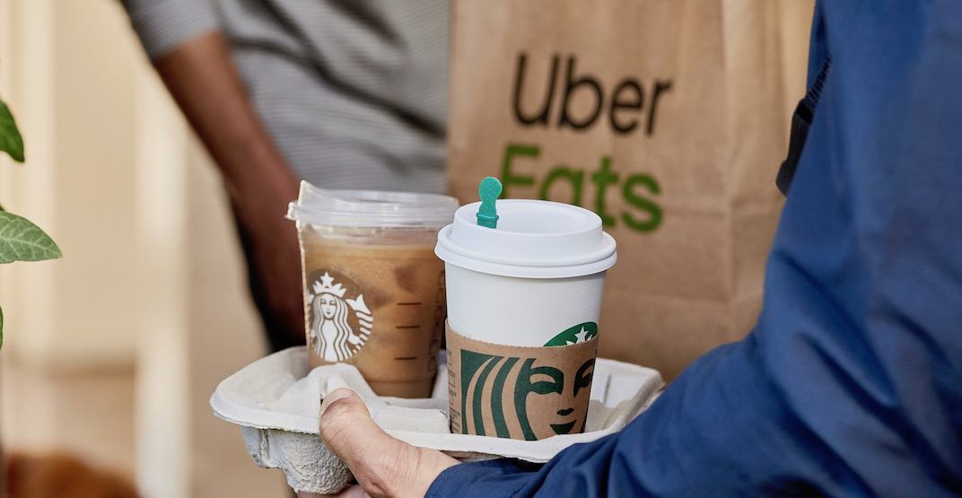 'Starbucks Delivers' is officially launching across Canada today