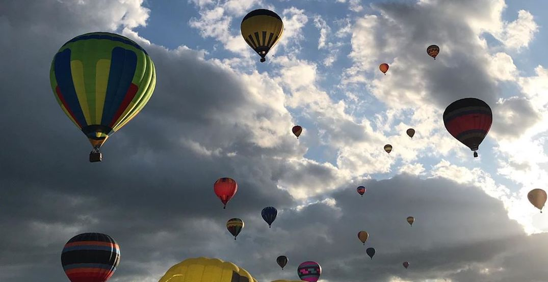 14 shots from first few days of St. Jean's international hot air balloon festival (PHOTOS)
