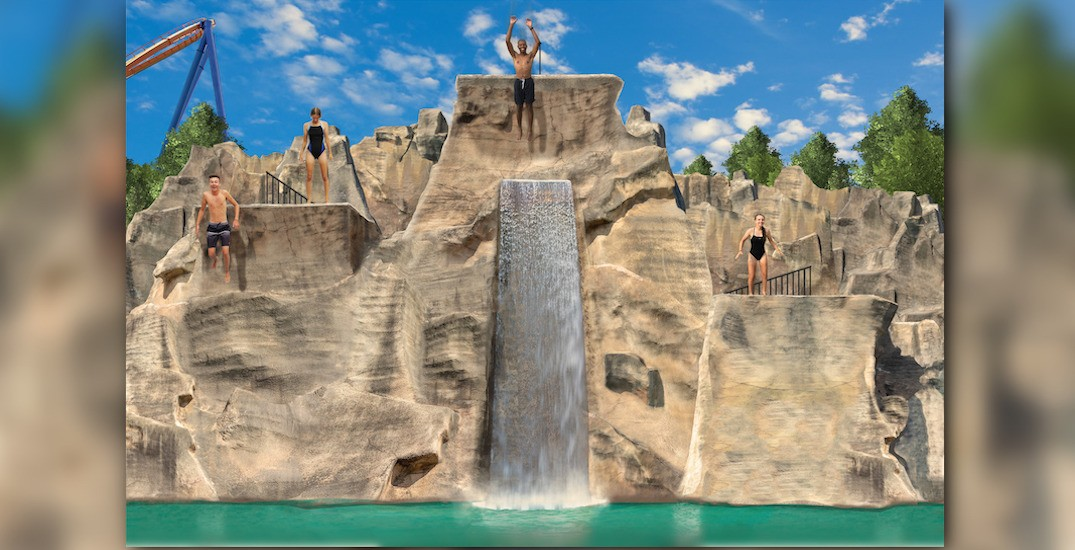 25-foot cliff jumping attraction coming to Canada's Wonderland