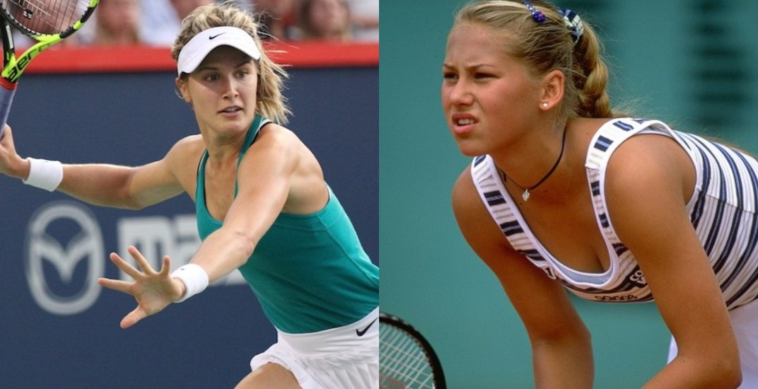 How Genie Bouchard's career compares to Anna Kournikova's
