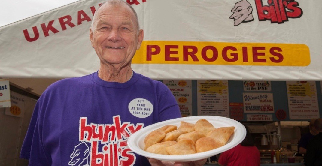 Legendary long-time PNE concessionaire 'Hunky Bill' dies at age 88