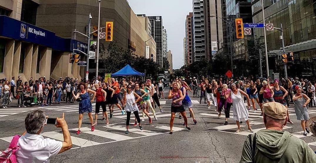 Enjoy a variety of activities on these car-free Toronto streets this weekend