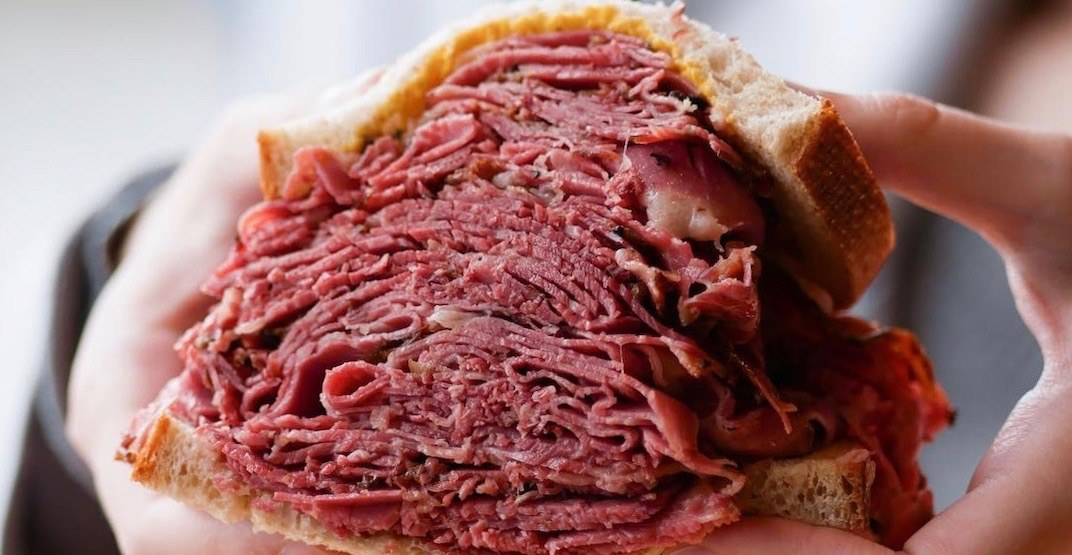 This Metro Vancouver deli makes the ultimate Montreal smoked meat sandwiches