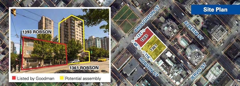 1393 robson street greenbrier hotel