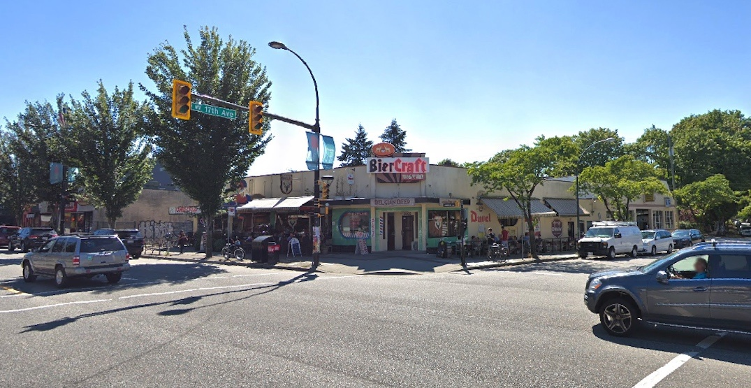 BierCraft Bistro building on Cambie Street sold for likely redevelopment