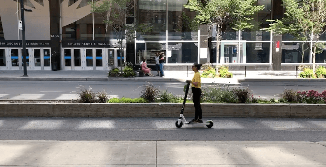 Montrealers are living their best lives on new Lime e-scooters (VIDEOS)