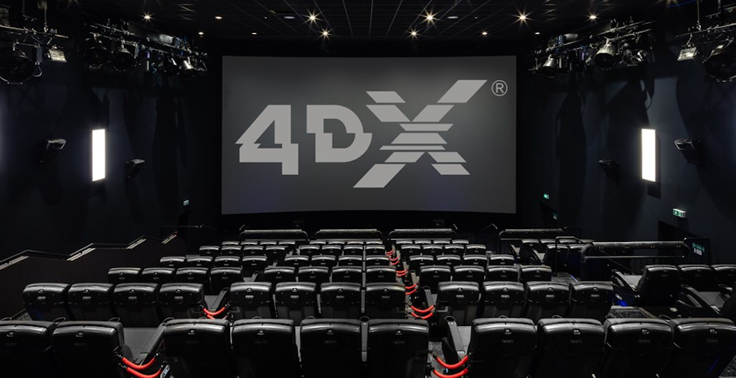 Canada's second 4DX theatre just opened in Calgary