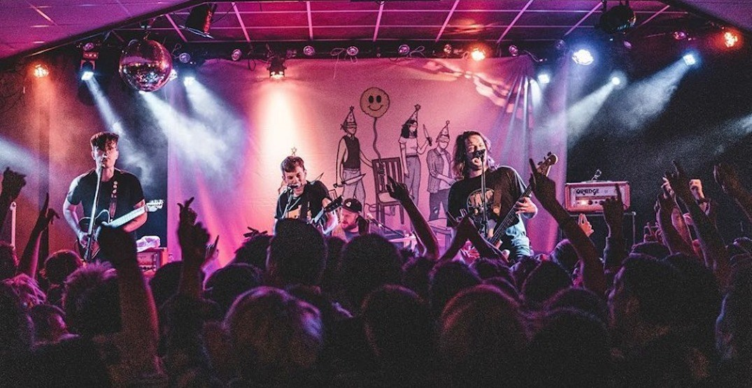 Canadian punk rockers PUP are coming to Calgary this fall