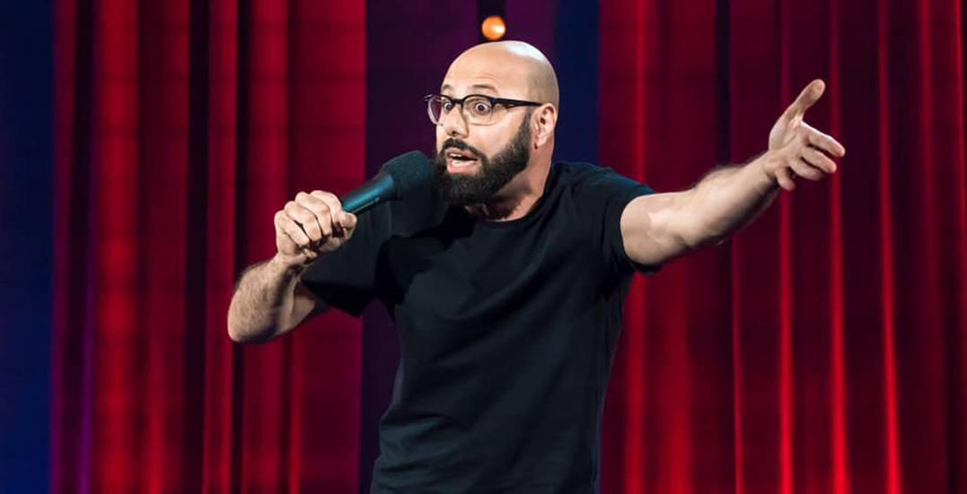 Comedian Dave Merheje is performing in Vancouver this month