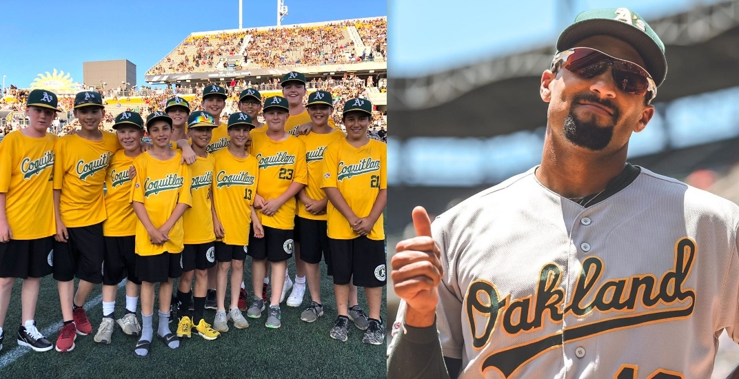Oakland Athletics shout out World Series-bound Canadian Little Leaguers