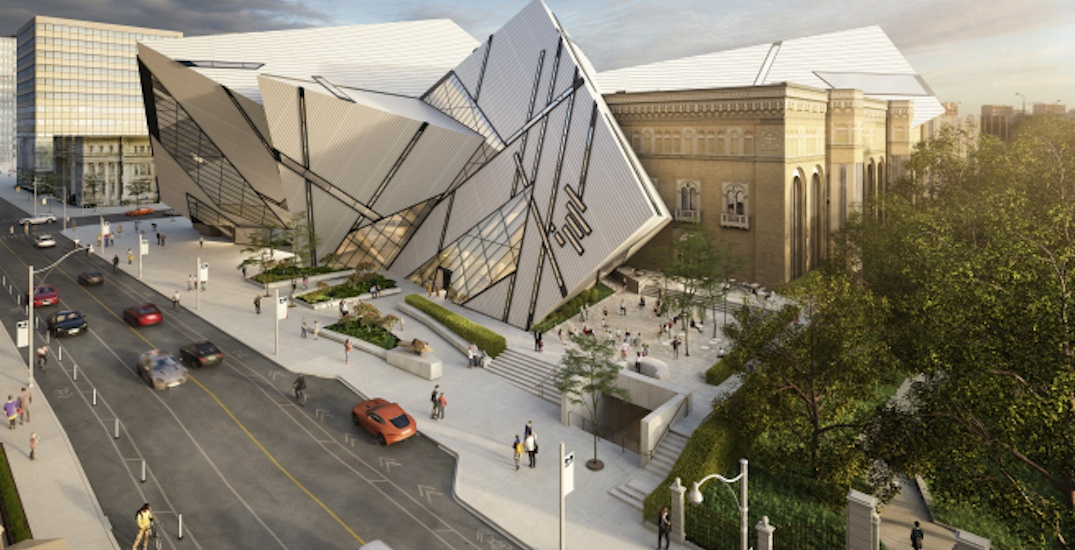The ROM's new outdoor plaza and performance space is opening this month