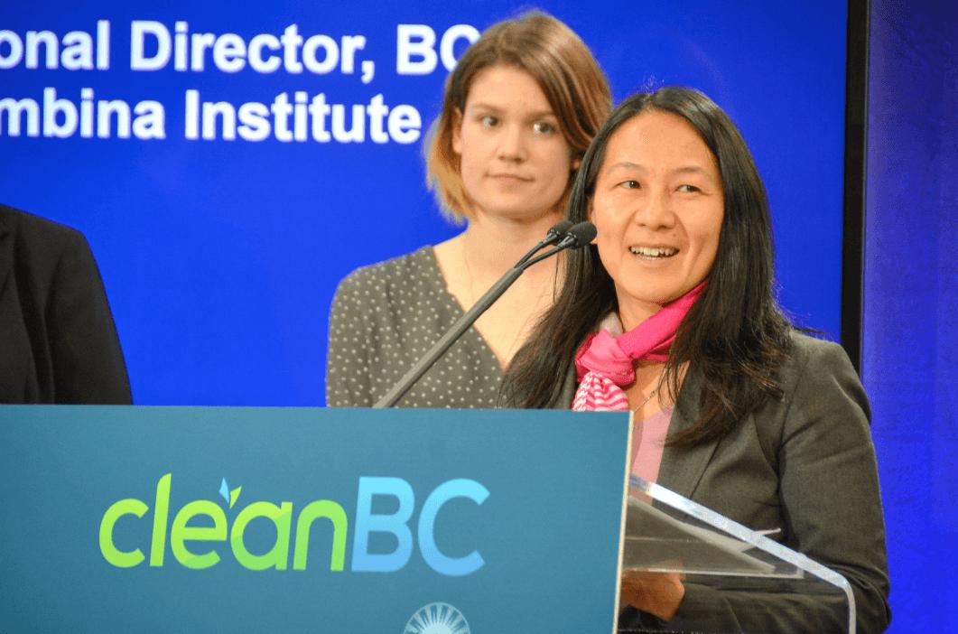 Karen Tam Wu, B.C. director at the Pembina Institute