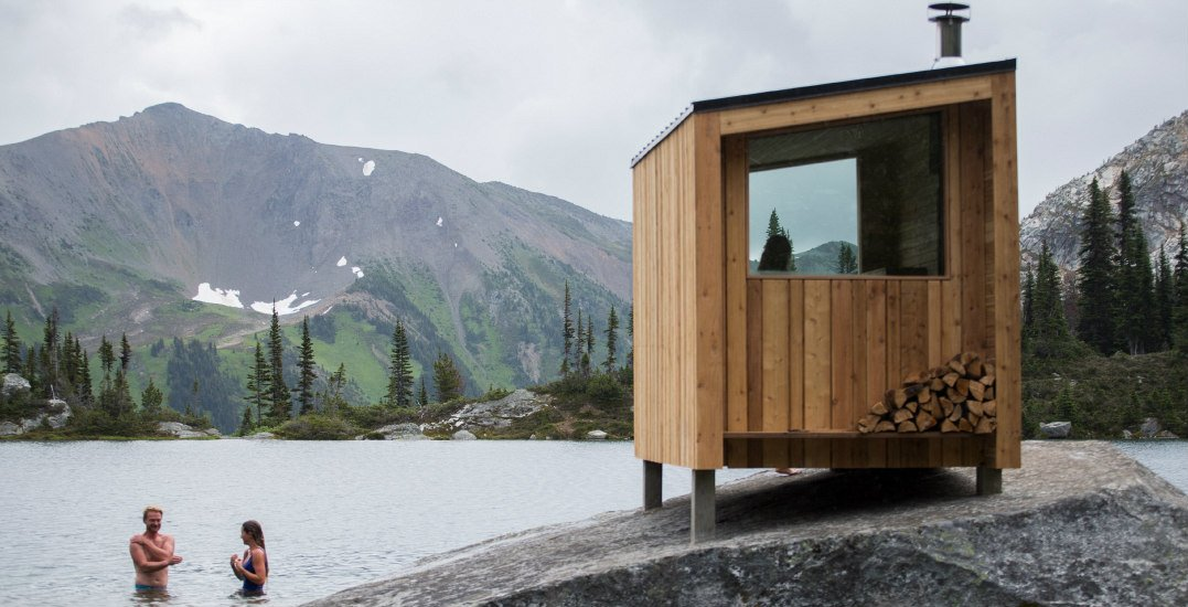 This alpine sauna experience needs to be added to your bucket list
