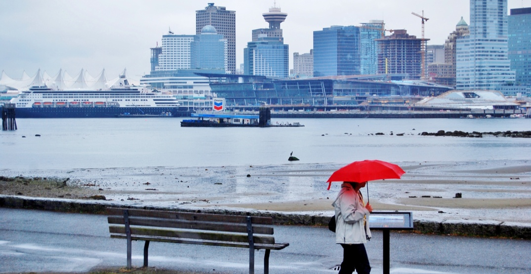 Lower Mainland could see a month's worth of rain over the weekend