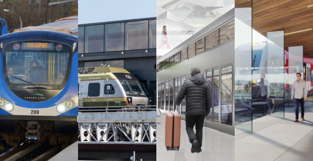 Rapid transit rail lines are serving Canada's airports, now and in the future