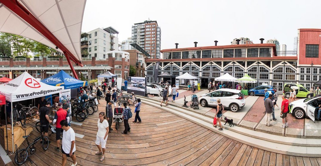 Electric-battery car showcase festival returns to downtown Vancouver