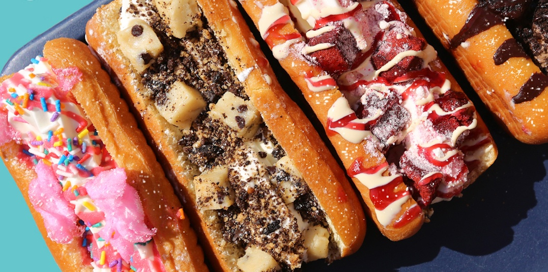 Sweet Jesus is serving ice cream hot dogs at the CNE right now
