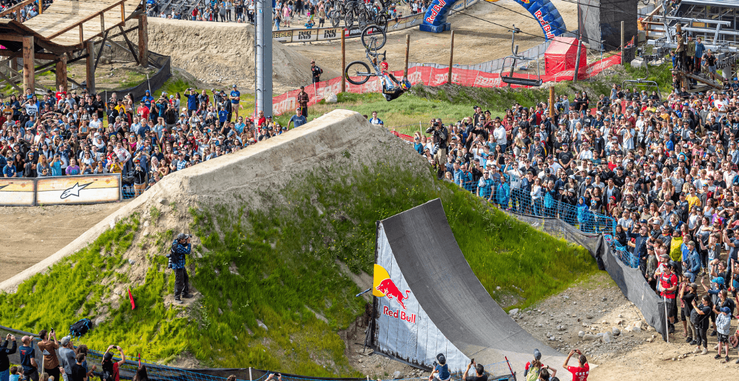 35,000 people pack Whistler for Red Bull Joyride Slopestyle competition