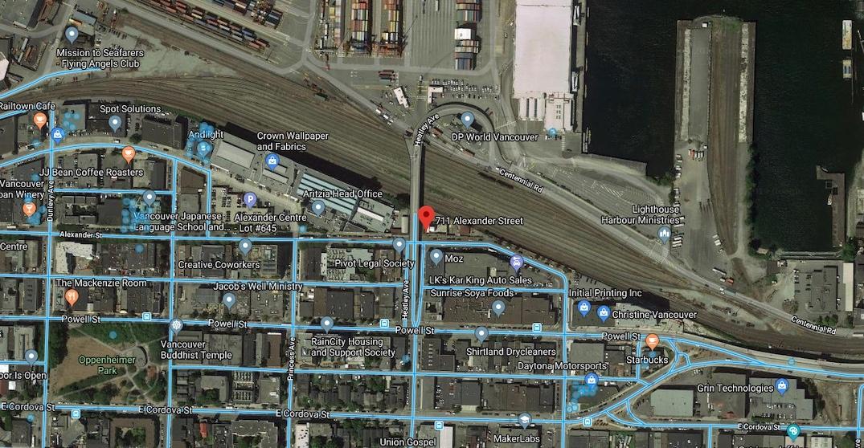 711 Alexander Street, Vancouver