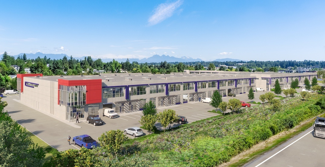 Major industrial space development coming to Cloverdale in Surrey