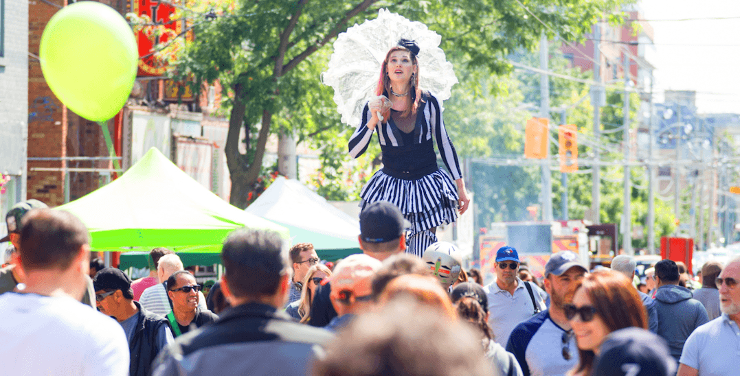 Toronto's annual Cabbagetown Festival is on next month