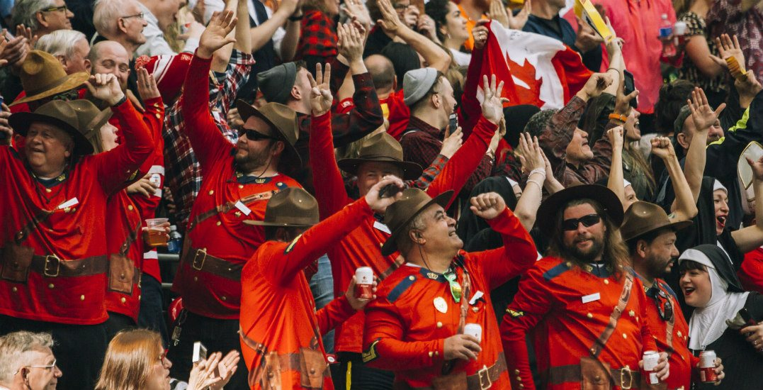 BC Place is hosting Canada-USA Rugby World Cup warm-up match