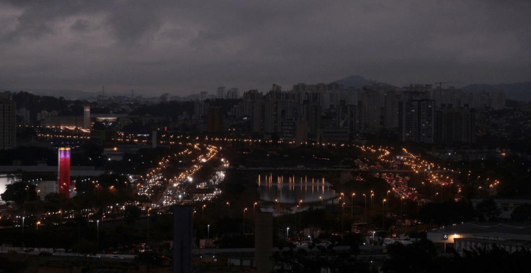 São Paulo turned dark due to smoke from fires in the Amazon rainforest