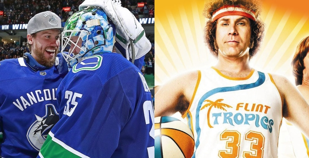 Canucks' Demko unveils new Will Ferrell-inspired goalie mask (PHOTO)