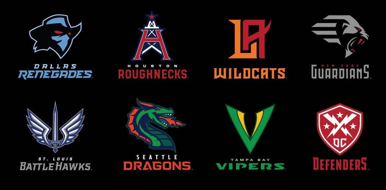 xfl teams 2020