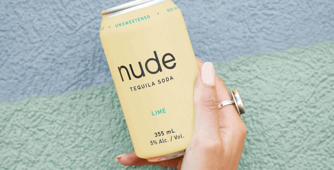Nude just released a tequila soda in two iconic flavours