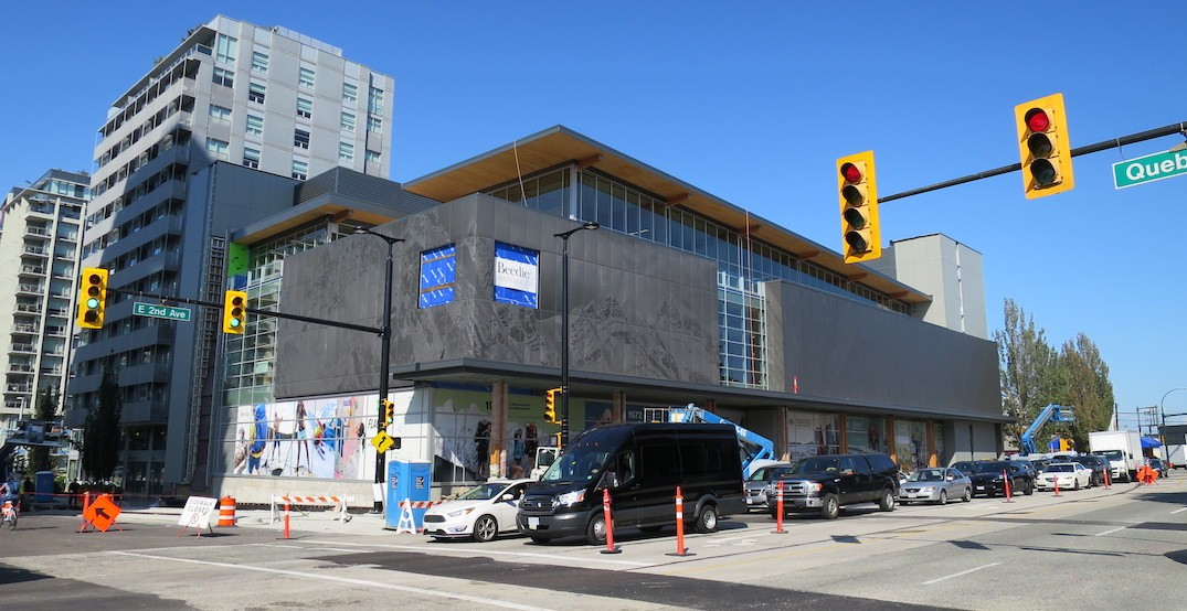 MEC Vancouver Olympic Village flagship store