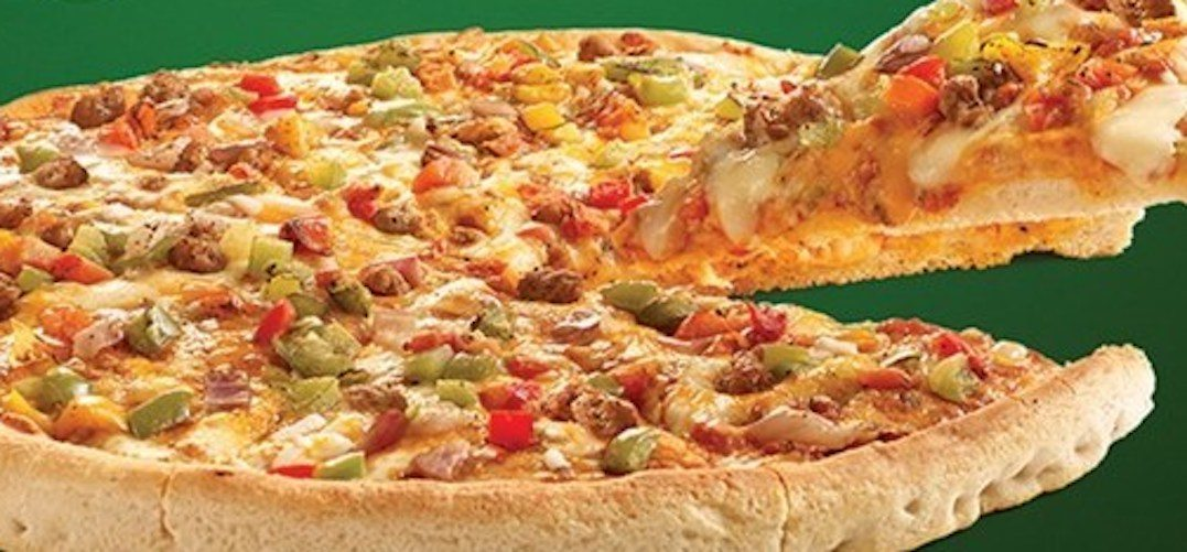 You can try Beyond Meat pizza at 7-Eleven for free in Toronto this summer