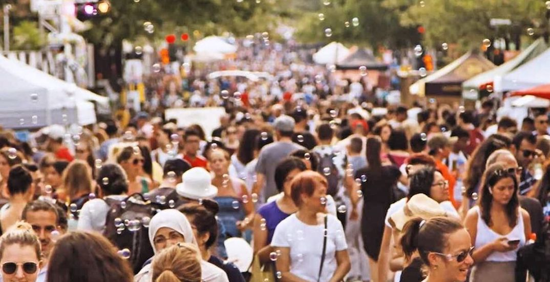 A giant FREE urban street fair is taking over Mont Royal this weekend