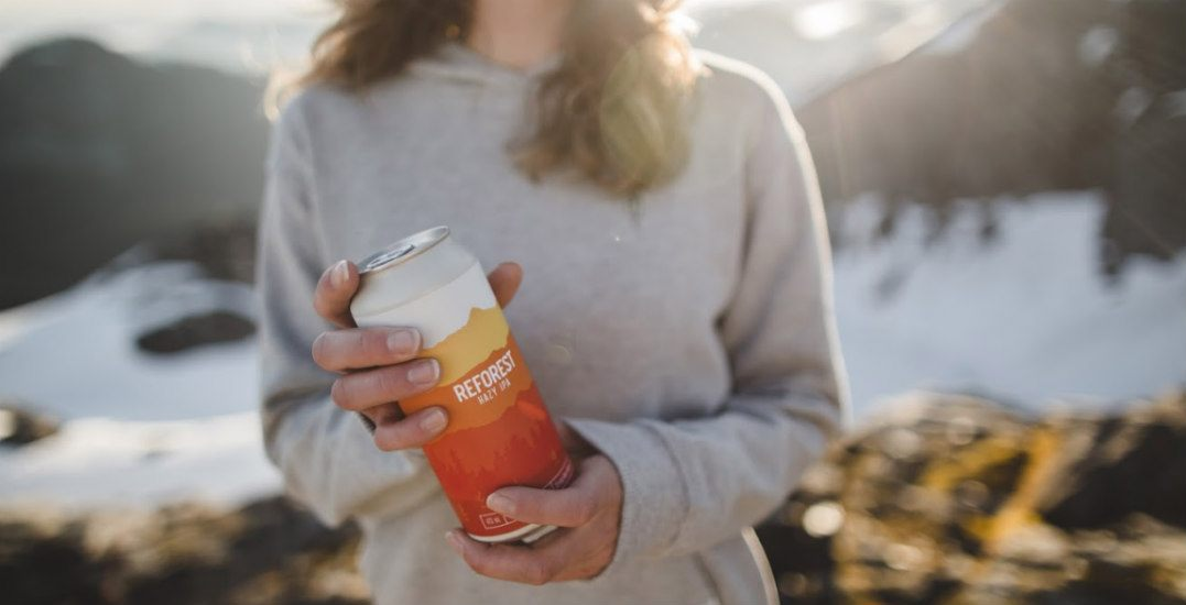 You can help regenerate BC's forests by simply drinking this beer