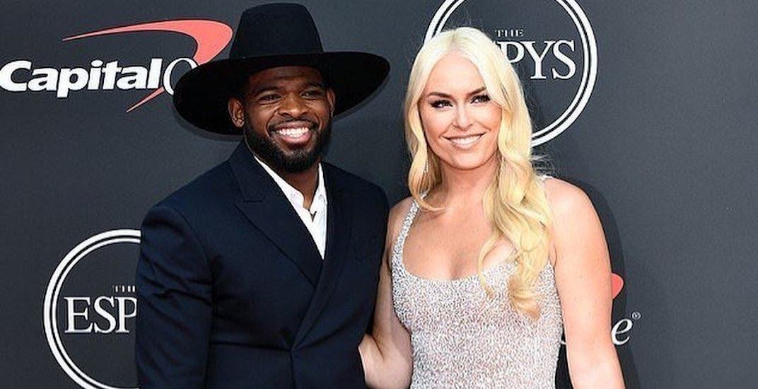 Sports power couple PK Subban and Lindsey Vonn are getting married