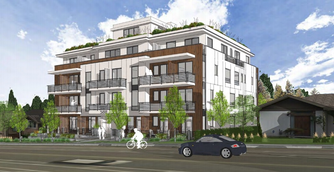 4-storey residential building proposed near Langara-49th Avenue Station
