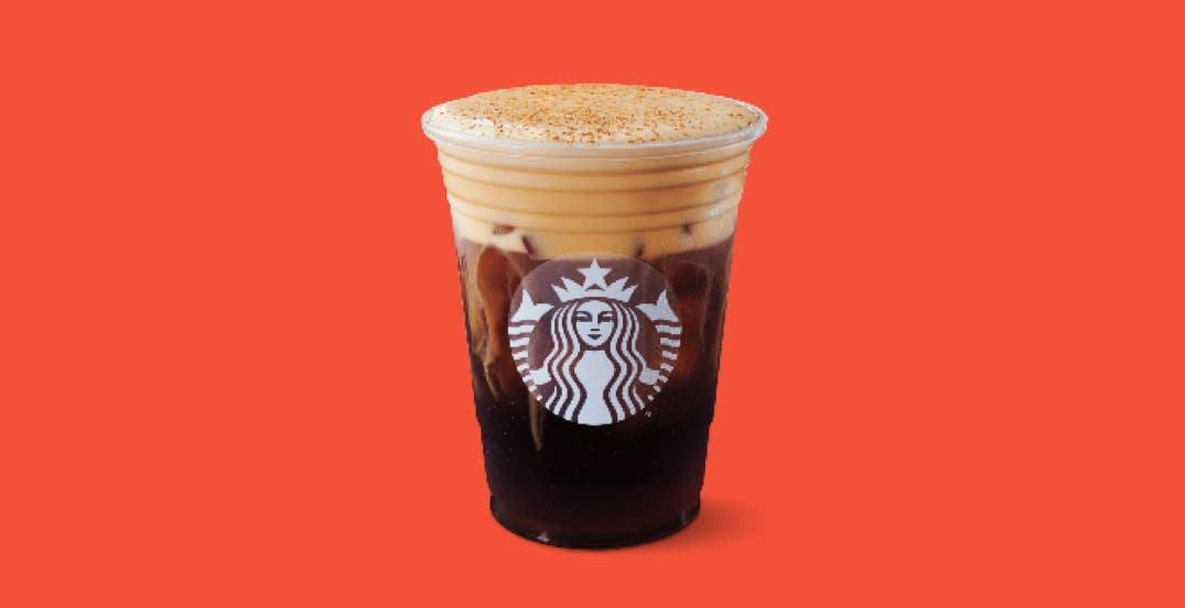 Starbucks launching Pumpkin Cream Cold Brew across Canada tomorrow