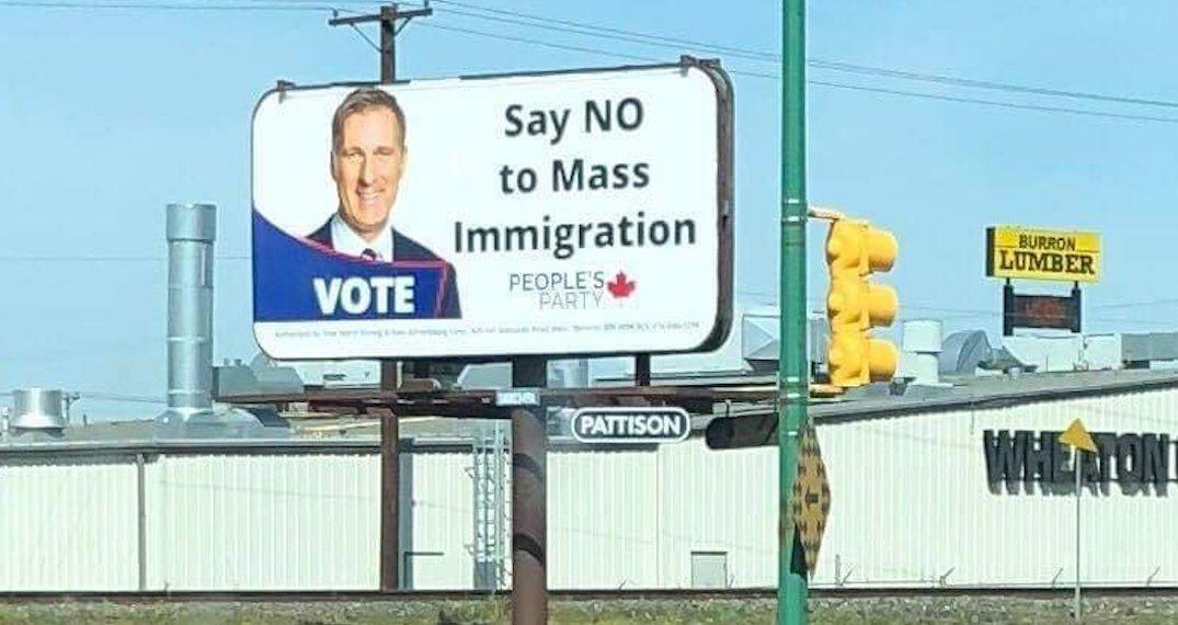 Anti-immigration billboards coming down following public outcry