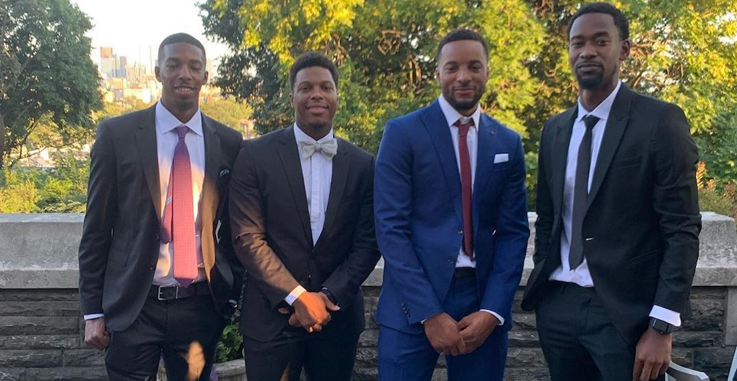 Current and former Raptors players hit up Casa Loma for a wedding this weekend (PHOTOS)